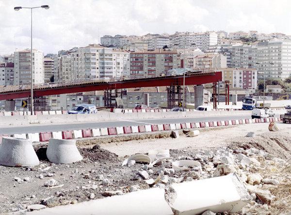 Brücke in Bau